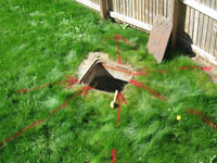 Buried Utility Survey (Non Intrusive Investigation) </